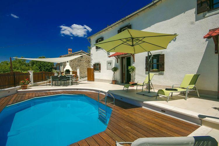 Kroatie villa af45 silverstaken for Zwembad prive